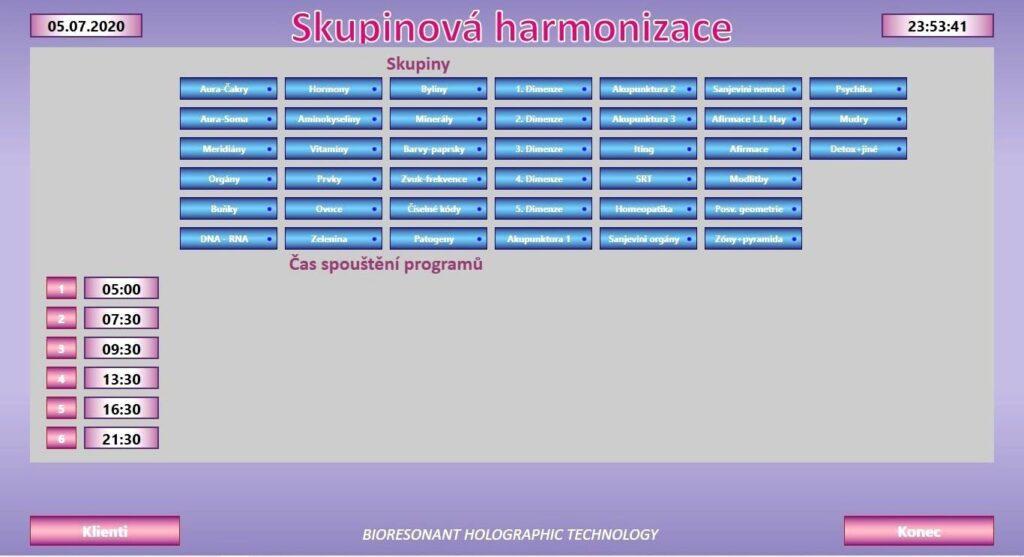 AWL - suponova harmonizace